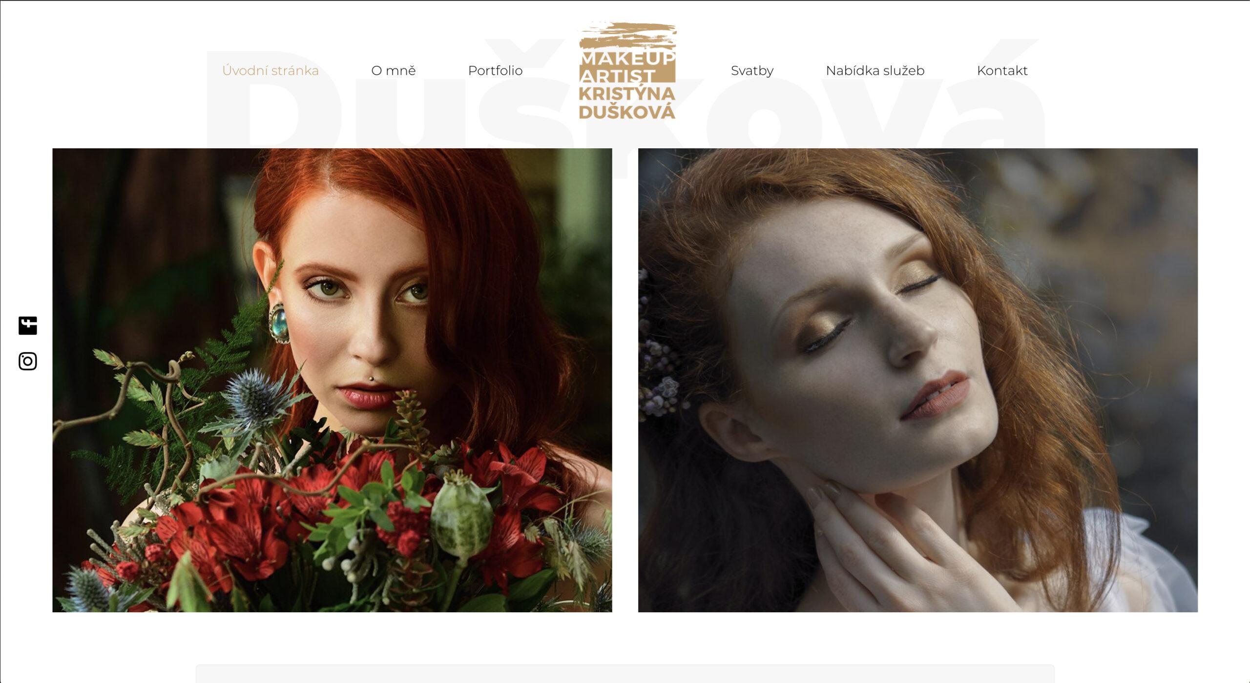 Dušková make-up